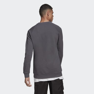Heren Originals Grijs LOUNGEWEAR Trefoil Essentials Sweatshirt