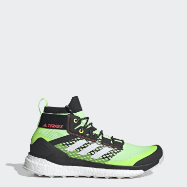 TERREX Green Terrex Free Hiker Hiking Shoes