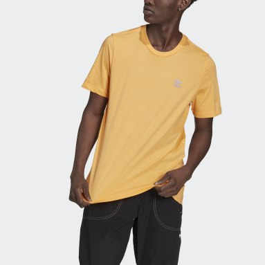 Mænd Originals Orange LOUNGEWEAR Adicolor Essentials Trefoil T-shirt