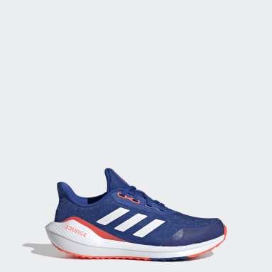 Children Running Blue EQ21 Run Shoes