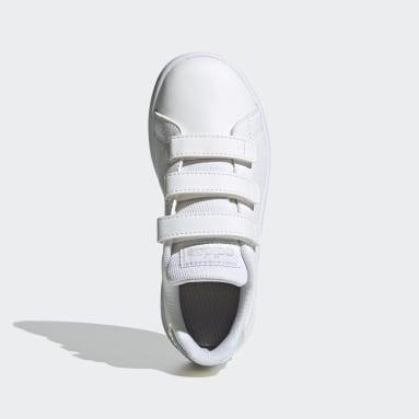 Kinderen Tennis Wit Advantage Schoenen