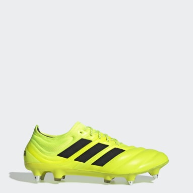 Football Yellow Copa 19.1 Soft Ground Boots