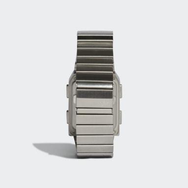 Relógio Archive_M3 Prateado Originals