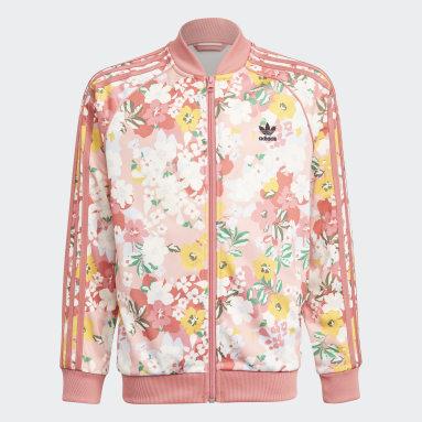 Dívky Originals růžová Bunda HER Studio London Floral SST