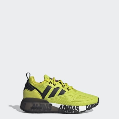 Kids Originals Yellow ZX 2K Boost Shoes