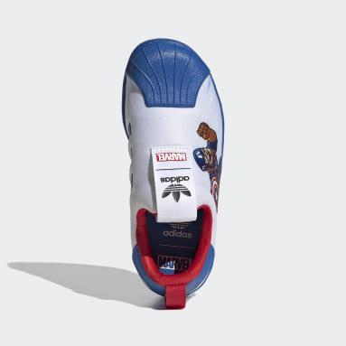 Children Originals White Superstar 360 Shoes