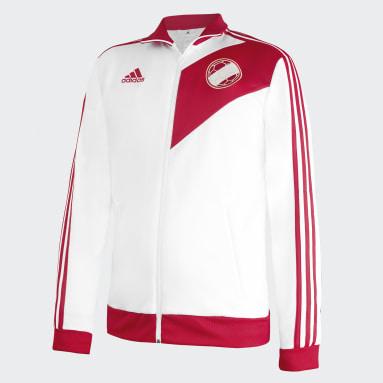 Casaca Deportiva Perú Blanco Hombre Fútbol