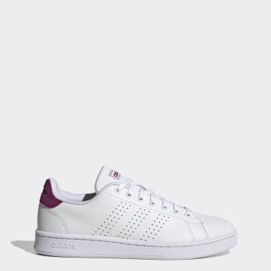 Women's Essentials White Advantage Shoes