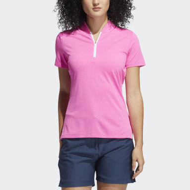 Women's Golf Pink Primegreen HEAT.RDY Polo Shirt