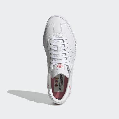 Kvinder Originals Hvid SAMBAROSE Swarovski® Crystals sko