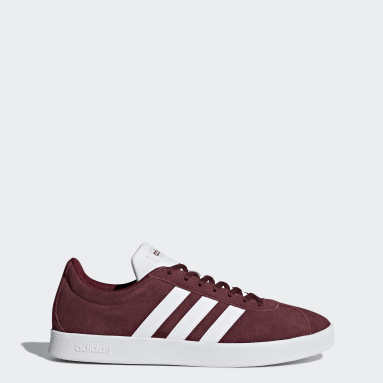 Women Walking Burgundy VL Court 2.0 Shoes
