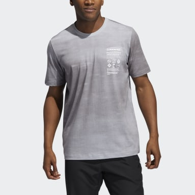 Men Basketball Grey FTC Wash Tee