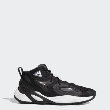Basketball Black Exhibit A Mid Shoes