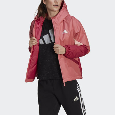 Frauen City Outdoor Back to Sport Insulated Jacke Rosa