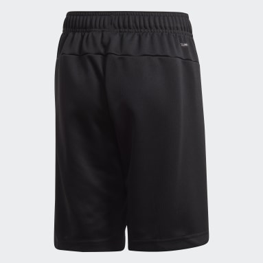 Shorts Linear Negro Niño Training