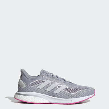 Women Running Grey Supernova Shoes