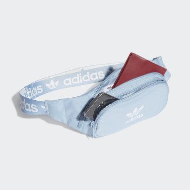Adicolor Branded Webbing Waist Bag Niebieski