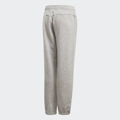 Pantaloni Essentials Linear Grigio Ragazzo Sportswear