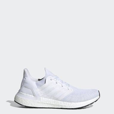 Chaussure Ultraboost 20 blanc Course