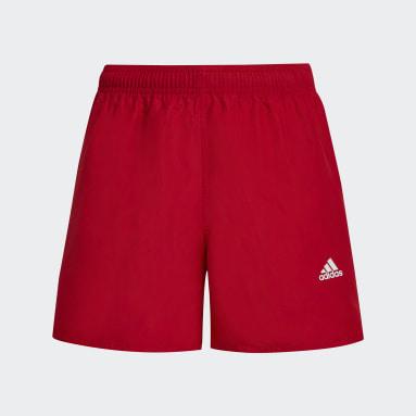 Kluci Plavání červená Plavecké šortky Classic Badge of Sport