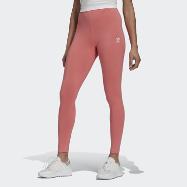 Women Originals Pink LOUNGEWEAR Adicolor Essentials Leggings