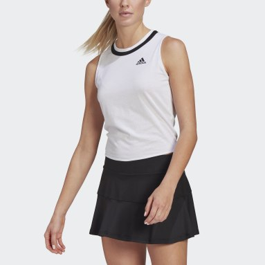 Canotta Club Knotted Tennis Bianco Donna Tennis