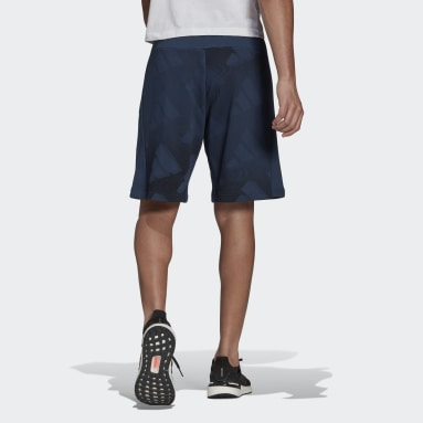 Men's Sportswear Blue adidas Sportswear Graphic Shorts