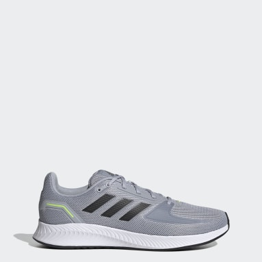 Men Running Grey Runfalcon 2.0 Shoes