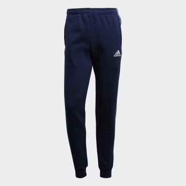 Men Gym & Training Blue Core 18 Sweat Tracksuit Bottoms