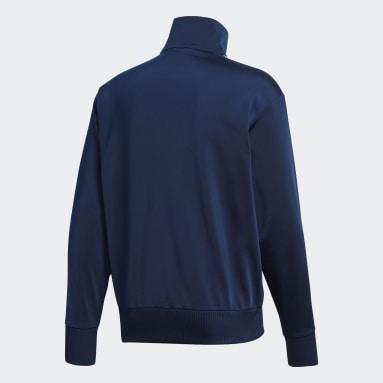 Heren Originals blauw Firebird Trainingsjack