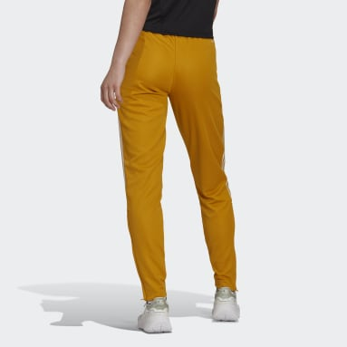 Women Football Gold Tiro Track Pants