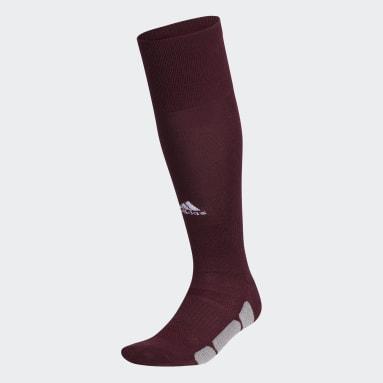 Baseball Burgundy Utility Knee Socks