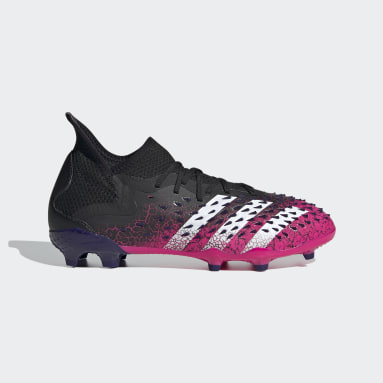 Children Soccer Black Predator Freak.1 Firm Ground Cleats