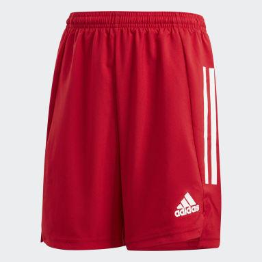 Kluci Fotbal červená Šortky Condivo 21 Primeblue