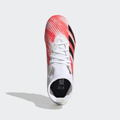 Děti Fotbal bílá Kopačky Predator 20.3 Multi-Ground