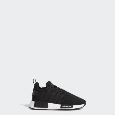 Infant & Toddler Originals Black NMD_R1 Refined Shoes