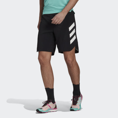 Men TERREX Black Terrex Parley Agravic All-Around Shorts
