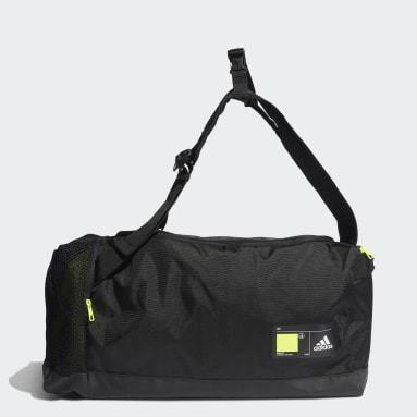 เทรนนิง สีดำ กระเป๋าดัฟเฟิล 4ATHLTS ID ขนาดกลาง