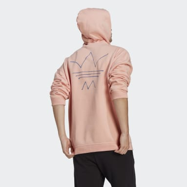 Men Originals Pink R.Y.V. Abstract Trefoil Hoodie