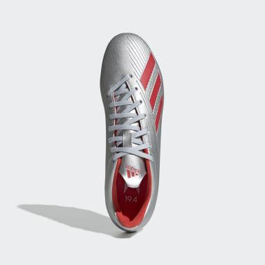 Calzado de Fútbol X 19.4 Multiterreno Plata Hombre Fútbol