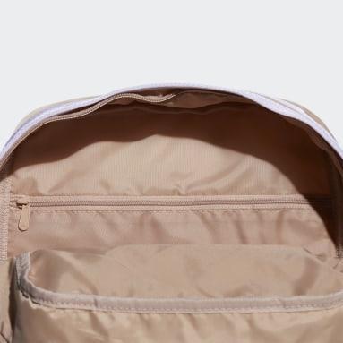 Women Training Beige Classic Mini Backpack