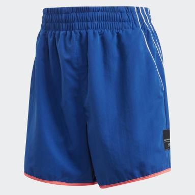 Shorts EQT Azul Mujer Originals