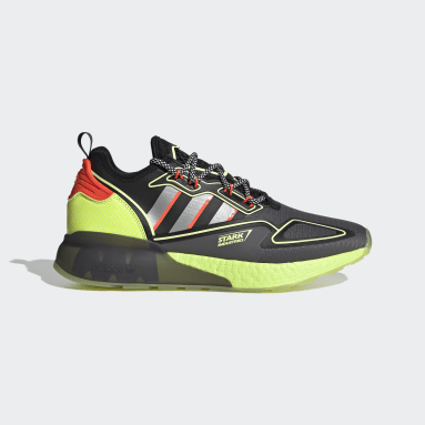 Originals Grey ZX 2K Boost Marvel Shoes