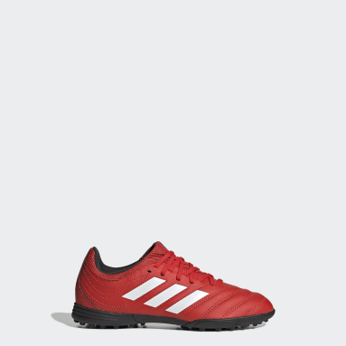 Children Soccer Red Copa 20.3 Turf Shoes