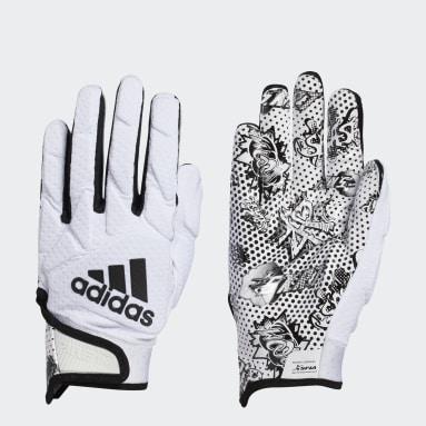 Football White Freak 5.0 Comics Gloves