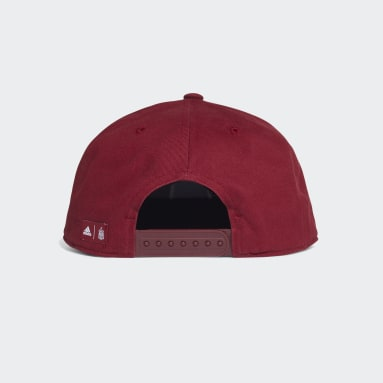 Football Burgundy Spain Snapback Cap