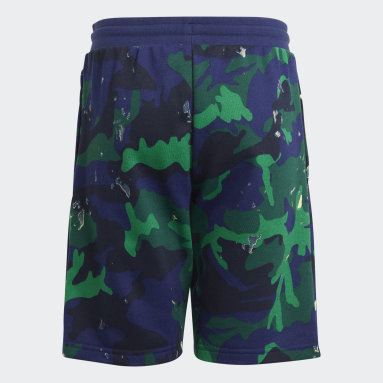 Shorts Camuflaje Estampados Azul Niño Originals