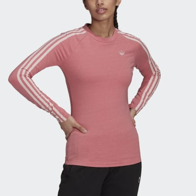 Maglia Fakten Long Sleeve Rosa Donna Originals