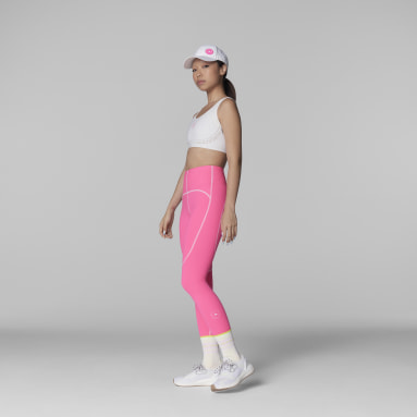 Leggings de Ioga TrueStrength adidas by Stella McCartney Rosa Mulher adidas by Stella McCartney