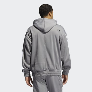 Men's Basketball Grey Donovan Mitchell Pullover Hoodie